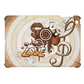 cool music icons image print background case for the iPad mini