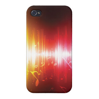Cool music Notes Iphone Cover iPhone 4/4S Covers
