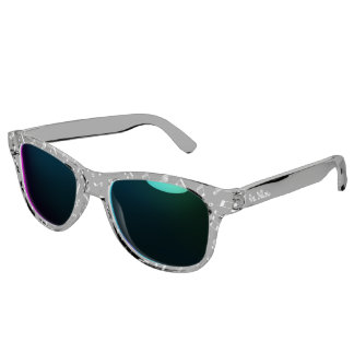 Cool Music Notes Pattern Sunglasses