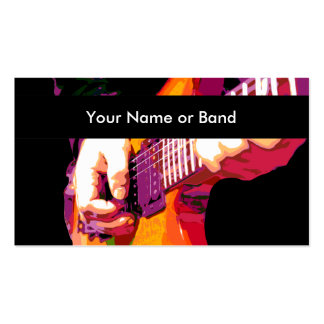 Cool Music Theme Pack Of Standard Business Cards