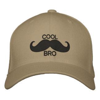 COOL Mustache BRO Embroidered Baseball Caps