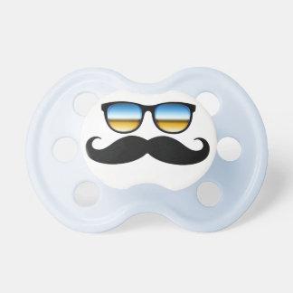 Cool Mustache under Shades Dummy