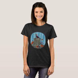 Cool Nature Woodpecker T-Shirt