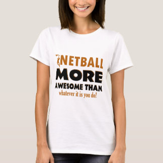 Cool Netball designs T-Shirt