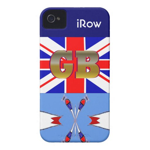 Cool New Great Britain Crew iRow iPhone Case Gift iPhone 4 Case-Mate Case