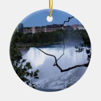Cool Niagara Falls Christmas Ornament