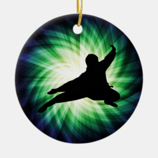 Cool Ninja Christmas Ornament