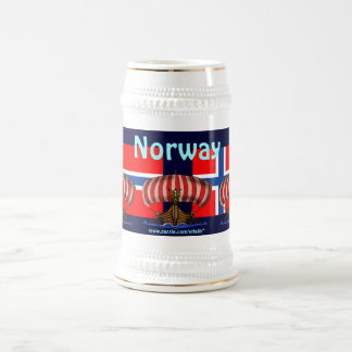 Cool Norway beer mug design