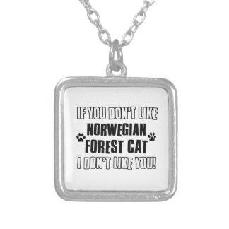 Cool NORWEGIAN FOREST CAT designs Pendant