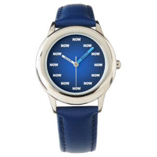 """Cool """"NOW"""" Watch (Blue)"""