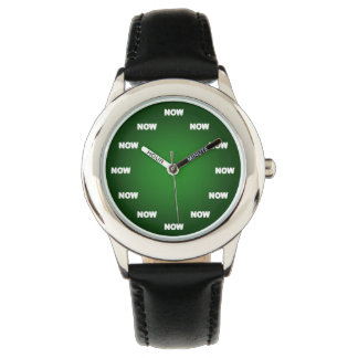 """Cool """"NOW"""" Watch (Green)"""