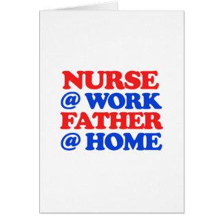cool nurse designs greeting card
