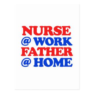 cool nurse designs postcard