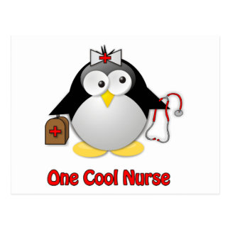 Cool Nurse Postcard