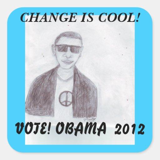 Cool -Obama 2012 Sticker