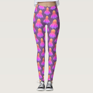 cool octopus sweet cartoon leggings