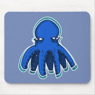 cool octopus sweet cartoon mouse mat