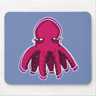 cool octopus sweet cartoon mouse pad