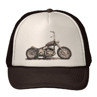 Cool Old Motorbike Cap