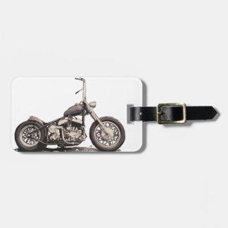 Cool Old Motorbike Luggage Tag