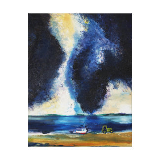 Cool On The Bay Canvas Print