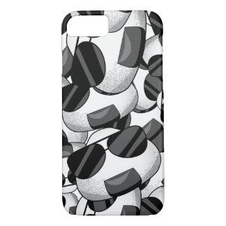 Cool onigiri pattern iPhone 7 case