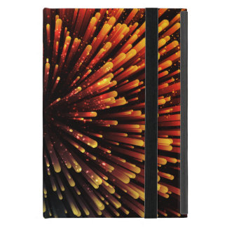 Cool orange and green Explosion Design Covers For iPad Mini