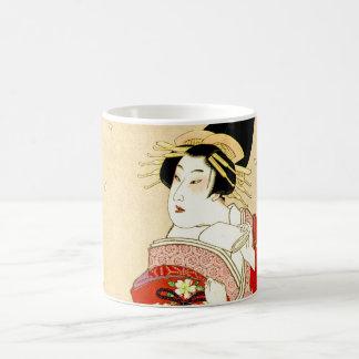 Cool Oriental Japanese Agemaki tattoo art Coffee Mugs