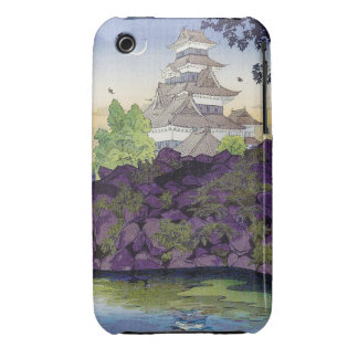 Cool oriental japanese Ancient Castle Palace art iPhone 3 Case-Mate Cases