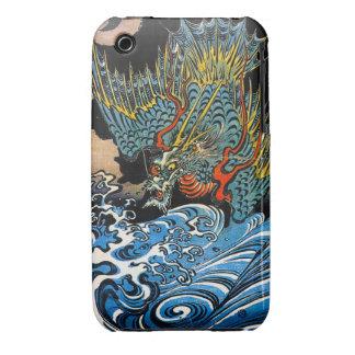 Cool oriental japanese Ancient Legendary Dragon iPhone 3 Case