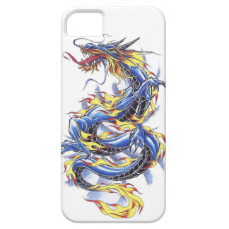 Cool Oriental Japanese Blue Dragon tatttoo iPhone 5 Cover