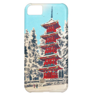 Cool oriental japanese clasic ancient shrine art iPhone 5C case