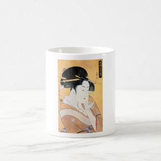 Cool Oriental Japanese Classei Geisha Mug