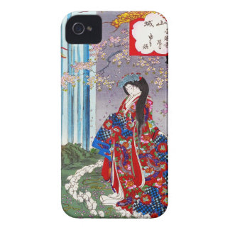 Cool oriental japanese classic geisha lady art iPhone 4 Case-Mate case