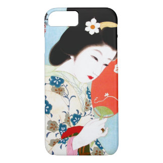 Cool oriental japanese classic geisha lady art iPhone 7 case