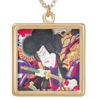 Cool oriental japanese classic samurai swordsman custom jewelry