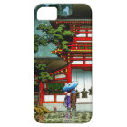 Cool oriental japanese classic temple rain art case for the iPhone 5