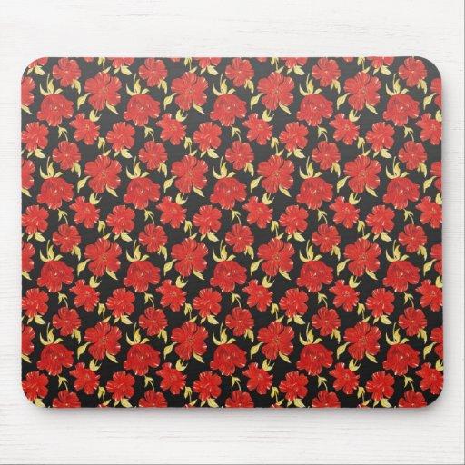 Cool  oriental japanese flowers mousepad
