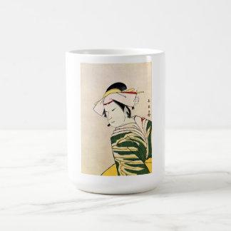 Cool Oriental Japanese Geisha tattoo art Coffee Mugs