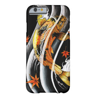 Cool oriental japanese Gold Lucky Koi Fish tattoo iPhone 6 Case