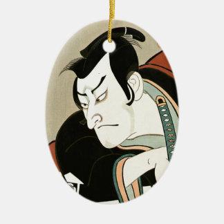 Cool Oriental Japanese  Gosei Koshiro tattoo Ceramic Oval Decoration