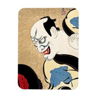 Cool Oriental Japanese Haikuro tattoo Rectangular Photo Magnet