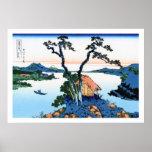 Cool oriental japanese Hokusai Fuji View landscape
