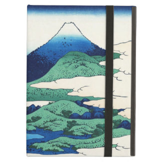 Cool oriental japanese Hokusai Fuji View landscape iPad Air Cover