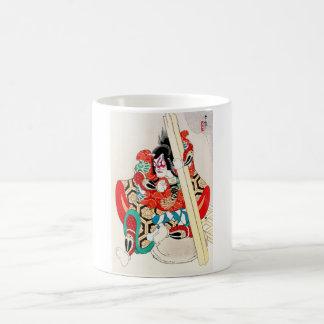Cool Oriental Japanese Kagekiyo tattoo Basic White Mug