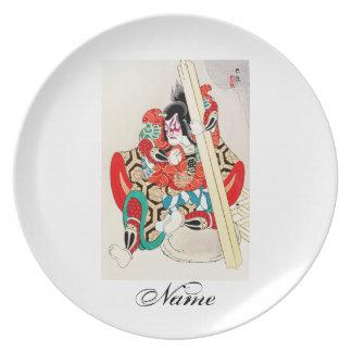 Cool Oriental Japanese Kagekiyo tattoo Plates