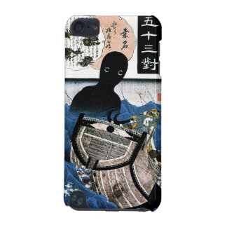 Cool oriental japanese Kuniyoshi sea demon art iPod Touch 5G Cover