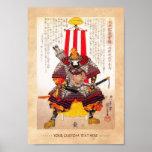 Cool oriental japanese legendary warrior samurai