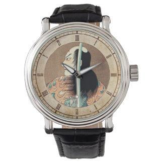 Cool oriental japanese Natsumatsuri Danschich art Watch