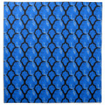 Cool oriental japanese peacock abstract pattern napkin